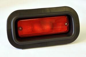 Red JDM & EDM Rear Bumper Foglight Fog Light for Honda Acura