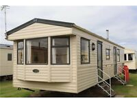 Static caravan for sale on a haven park