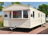 Static 6-8 berth Caravan to rent on the Beautiful South Coast at St Oysth beach near Clacton On Sea
