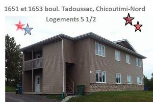 Logement 5 1/2 à louer ~ Chicoutimi Nord