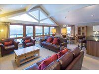 Fabulous 5* Luxury Lodge Rental Loch Lomond near Glasgow