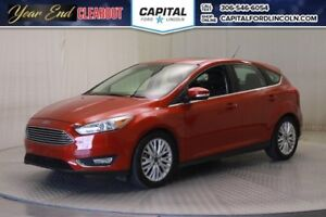 2018 Ford Focus Titanium HB * Leather * Sunroof *