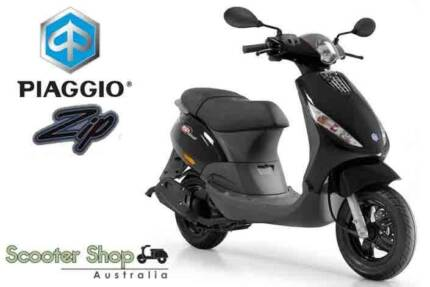 NEW PIAGGIO ZIP 50 NOW ONLY $2190 RIDE AWAY - SAVE $200!!!
