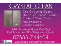 Crystal clean cleaning, laundry, ironing, carpet / upholstery cleaning service