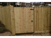 Garden Gates All Sizes Made to Fit- Delivered-Installed