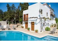 Stunning 5 bed detached villa - San Antonio Bay, Ibiza - Sleeps up to 10 persons