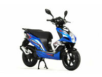 AJS Firefox 50cc 4T Sports Moped/Scooter Learner Legal- Brand New-