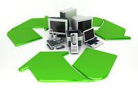 Ramassage d'ordinateurs ou pièces informatique gratuits