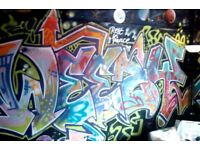 Graffiti Street Artist Available Now - Murals - Bedroom walls - Office - Canvas