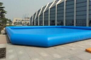 Inflatable 26.2x26.2x1.8Ft 8x8x0.55m Inflatable Water Pool Summer Fun 122095