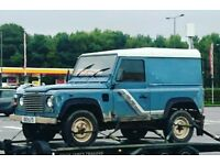 WANTED LAND ROVER DEFENDERS 1986 -2000 ANY CONDITON