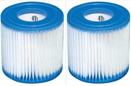 Type H Filter Cartridge Compatible with Intex Filter Pumps (2 Packs), Free Ship