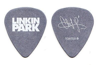 Linkin Park Chester Bennington Signature Gray Guitar Pick - 2007-2008 Tour