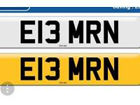 Private number plate imran