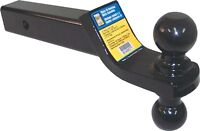 2 inches to 1 7/8 inches trailer hitch ball mount