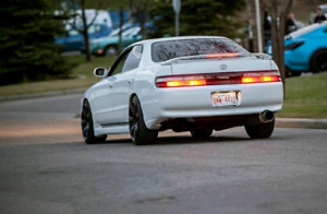 Toyota chaser jzx90 twin turbo