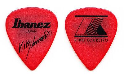 Megadeth Kiko Loureiro Signature Red Guitar Pick - 2015 Tour