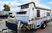 Off Road Supreme Getaway Caravan - Single beds - 2x solar - Annex Wodonga Wodonga Area Preview