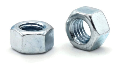 "Zinc Plated Grade 5 Steel Hex Nuts Grade 5 Zinc Finished Nuts - 1/4"" to 2"""