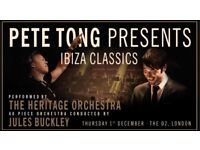SEATED, PETE TONG 02 TICKETS - IBIZA CLASSICS