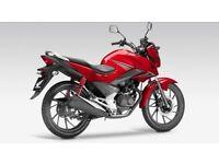 Honda CB125F motorcycle , fully serviced , warranty , ready to go