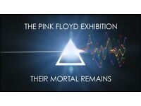 X2 Pink Floyd Tickets - Their Mortal Remains V&A 1/7/17