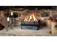Stovax & GAZCO Spanish Fire Basket - Cost £350 New - Only Used For a Few Months