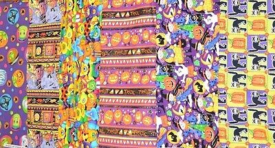 Halloween Prints Variety 100% Cotton Spooky Fun 1/2 YARD PRINT CHOICE Page 6](Halloween Fun Pages)