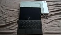 Microsoft pro 3 tablet, with keyboard, stylist and charger.