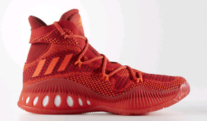 Crazy Explosive All-Red Primeknit Sz 10 Ball Shoes