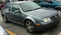 Clean 2003 Volkswagen Jetta Sedan NEGO
