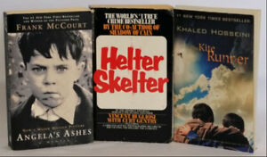 Three Best Sellers Bundle of Books Softcovers Previously Enjoyed