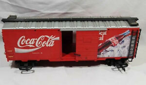 "COCA COLA ""G"" SCALE MODEL RAILROAD TRAIN CAR"