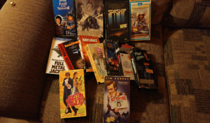 VHS Movies 80's and 90's