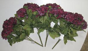 Burgundy Silk Flower Bouquets