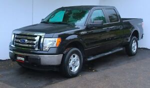 2012 Ford F-150 XLT SuperCrew 4X4  Low km New tires and brakes