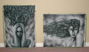 custom airbrushed canvases London Ontario image 1