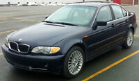 2003 BMW 330xi Sedan. I6 Engine with 5-Speed and AWD.