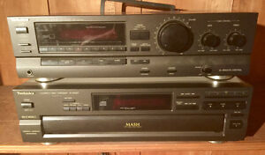 Technics receiver , CD player,  speaker