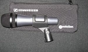 FS FT Sennheiser E835 Microphone with cable, clip, bag