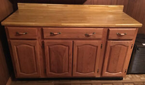 TWO ARMOIRES/DRAWERS/CABINETS/STORAGE/SHELVING UNITS