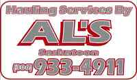 AL's Yard Services Inc. / Hauling Services By AL's