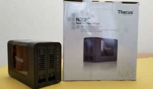 02 bay NAS  with HDD : 4TB storage capacity