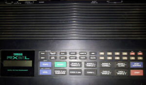 Yamaha RX21L Synthesizer Drum Machine