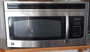GE over the range microwave - 1.6 cu.ft