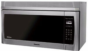 PANASONIC OVER THE RANGE/STOVE MICROWAVES- WHAT A DEAL!