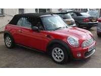 MINI Convertible ONE (red) 2012