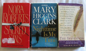 Audio Book Cassette Collection Mixed Lot of 3 Pre-Owned