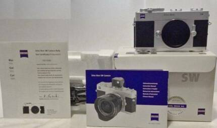 *As-NEW in box* ZEISS Ikon SW camera Sydney City Inner Sydney Preview