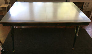 Retro formica top and chrome kitchen table